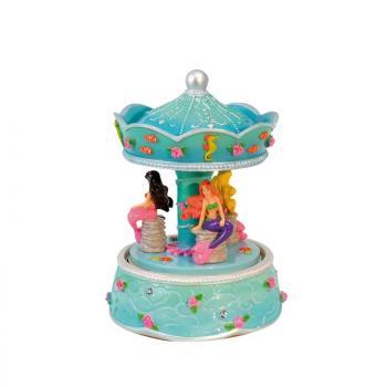 Spieluhr - Karussell Meerjungfrauen