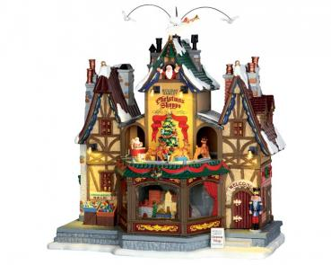 "Spieluhr ""Holiday Hamlet Christmas Shoppe"""
