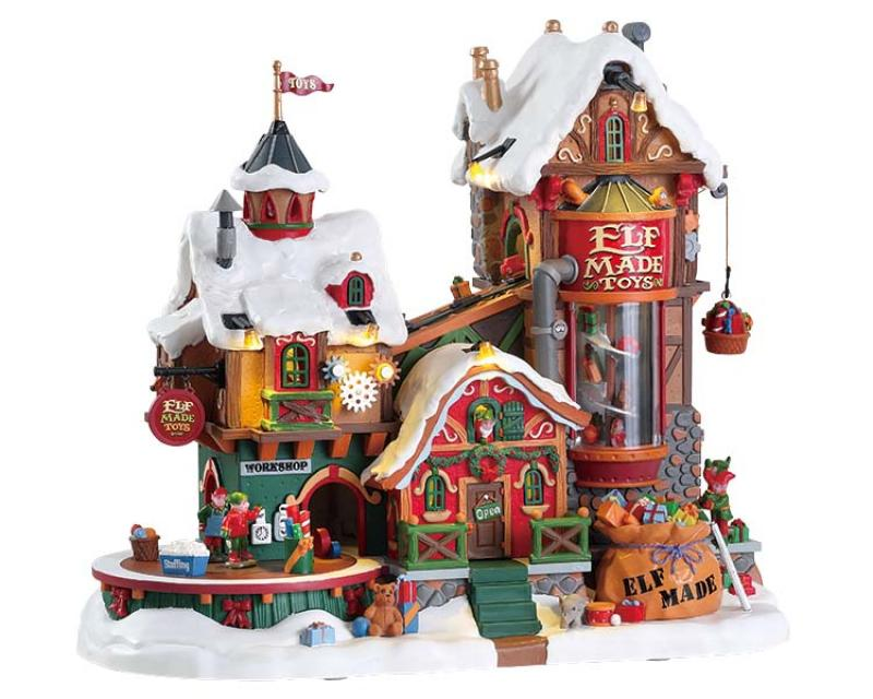 Spieluhr Elf Made Toy Factory